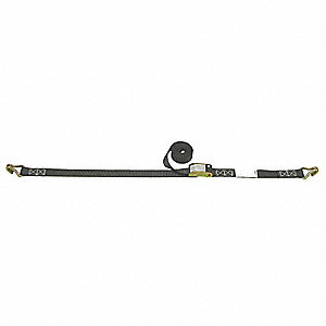 "Tie Down Strap, 15 ft.L x 1""W, 330 lb. Load Limit, Adjustment: Cam Buckle"