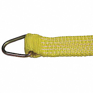 Tie Down Strap,Ratchet,Poly,30 ft.
