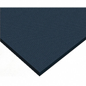 Antifatigue Mat, Rubber, 5 ft. x 3 ft., 1 EA