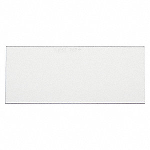 Polycarbonate Filter Plate,2In x4-1/4 In