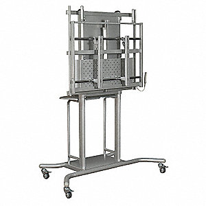 "Flat Panel Cart For Use With Up to 80"" Panel"