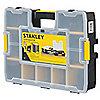 """Caja con Compartimiento Ajustable, Negro, 3-1/2"""" x 17-3/8"""", EA1"""