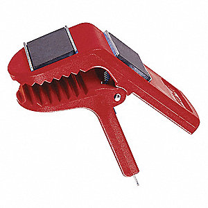 Paint Can Clip,Red,Plastic,2in. L