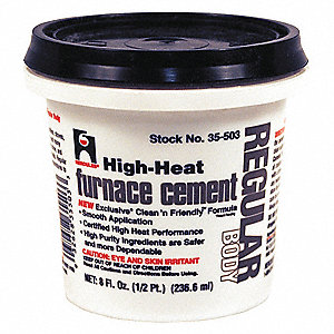 Hercules Furnace Cement High Temperature 12 Pt 39at5835503