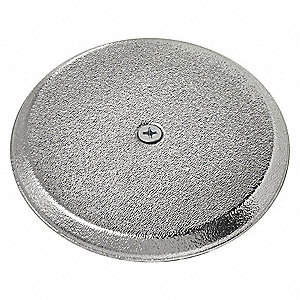 Cover Plate,High Impact,ChromeFinish,4i