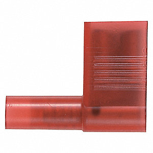 Female Flag Disconct,Red,22-18AWG,PK1000