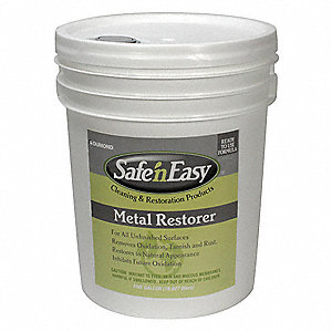 Safe n Easy Metal Restorer,5 Gal