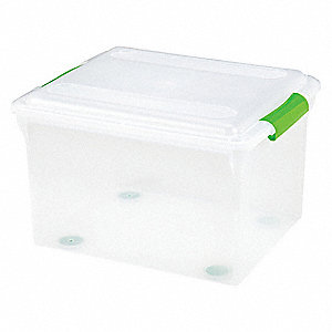 File Box,Clear,Legal