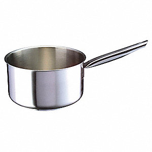 Stainless Steel Deep Sauce Pan&#x3b; Capacity (Qt.): 3-1/8