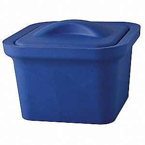 Ice Pan with Lid, Blue, 1L