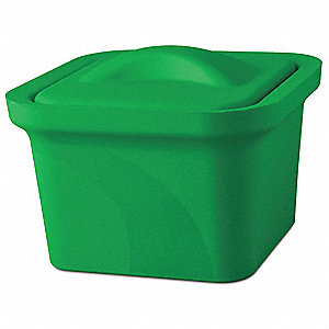 Ice Pan with Lid,Green,1L