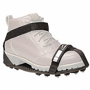 Men's Strap On Ice Cleats, Traction Type: Stud, Fits Shoe Size: 13 to 14-1/2