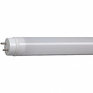 25 Watts LED Lamp, T8, Medium Bi-Pin (G13), 2500 Lumens, 6500K Bulb Color Temp., 1 EA
