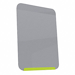 "Dry Erase Board,Magnetic,Steel,18""W"
