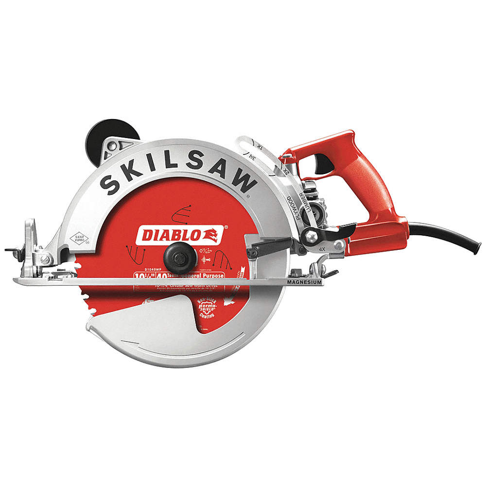 Skilsaw 10 14 worm drive circular saw 4600 no load rpm 150 amps zoom outreset put photo at full zoom then double click greentooth Choice Image