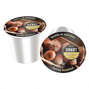 Vanilla Hazelnut, Medium Coffee, 0.35 oz. Single Serve Cup, 24 PK