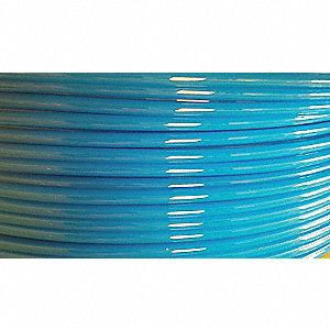 TUBING SOFT NYLON 10MM X7.5MM BLUE