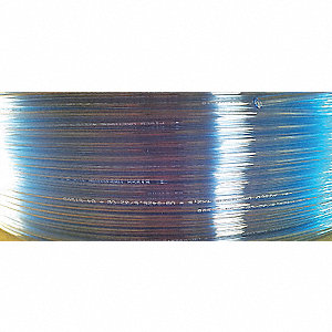 TUBING SOFT NYLON 8MM X6MM CLR BLUE