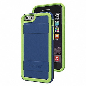 CASE I6-PROTECTOR,NVY/GRN