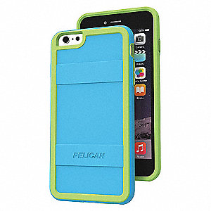 CASE I6 PLUS PROTECTR,TEAL/LIME GRN