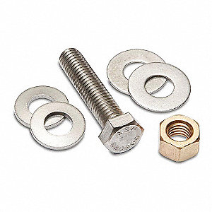 Compression Connector Hardware Kit For Use With Mfr. Model Number YA5CLB, YA3CLB, YA1CLB, YA25LB, YA