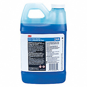 Portion Control Floor Cleaner, For Use With 3M Flow Control System, 1 EA