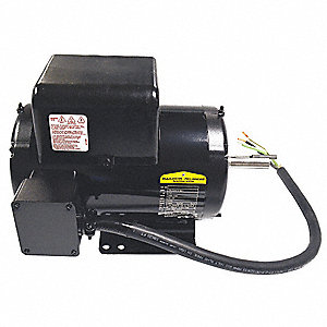 Motor,7.5 HP, 208-230V, 1-Phase,3450 rpm