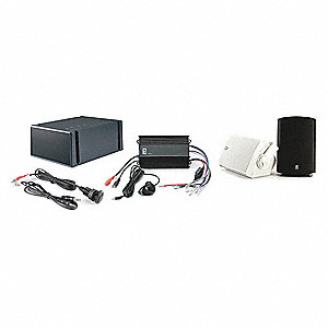 MP3 Kit,120W,White,Waterproof,1 Input