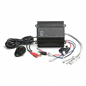 Amplifier,50W,Black,Water Resistant