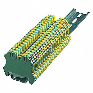 Terminal Block, 600VAC Voltage, 32 Amps, 10 AWG Max. Wire Size, 26 AWG Min. Wire Size