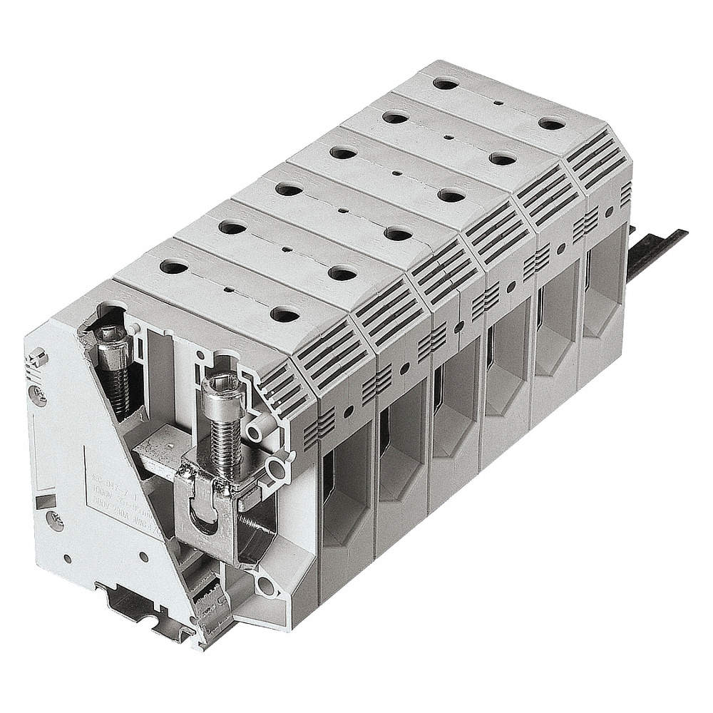 BUSSMANN Terminal Block, 600VAC Voltage, 230 Amps, 4/0 Max. Wire ...