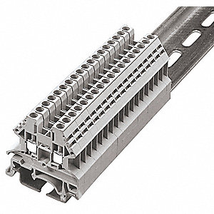 Terminal Block, 600VAC Voltage, 20 Amps, 12 AWG Max. Wire Size, 22 AWG Min. Wire Size