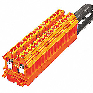 Terminal Block, 600VAC Voltage, 50 Amps, 10 AWG Max. Wire Size, 22 AWG Min. Wire Size