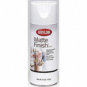 Crystal Clear Spray Paint in Matte Crystal Clear, 11 oz.