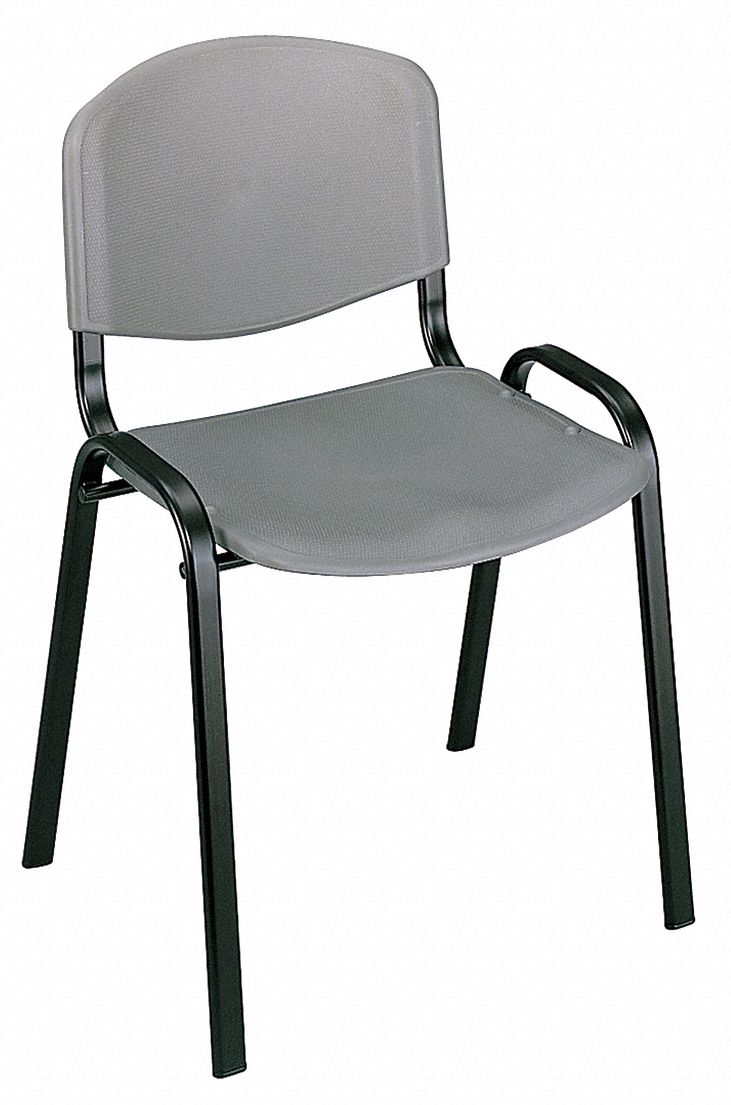 Terrific Safco Black Steel Stacking Chair With Charcoal Seat Color Forskolin Free Trial Chair Design Images Forskolin Free Trialorg