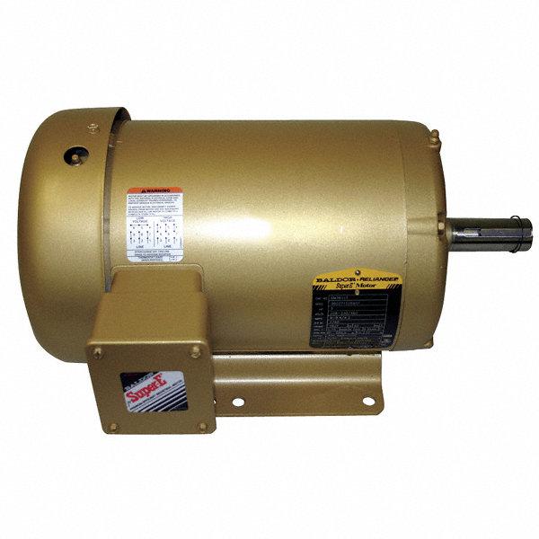Baldor Electric 3 Hp General Purpose Motor 3 Phase 3460
