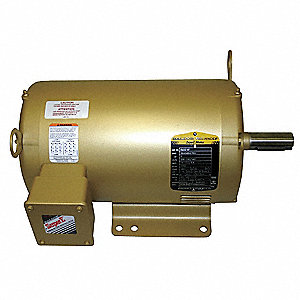 5 HP General Purpose Motor,3-Phase,1750 Nameplate RPM,Voltage 208-230/460,Frame 184T