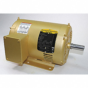 2 HP General Purpose Motor,3-Phase,1750 Nameplate RPM,Voltage 230/460,Frame 145T