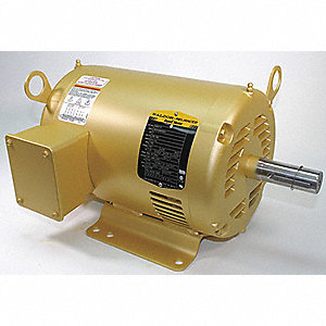 3 HP General Purpose Motor,3-Phase,1765 Nameplate RPM,Voltage 230/460,Frame 182T