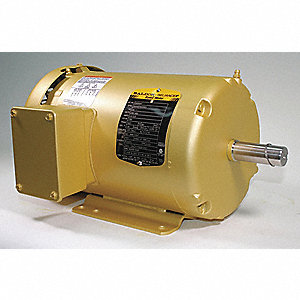 Motor,3-Ph,1-1/2 HP,1760 RPM,145T,TEFC