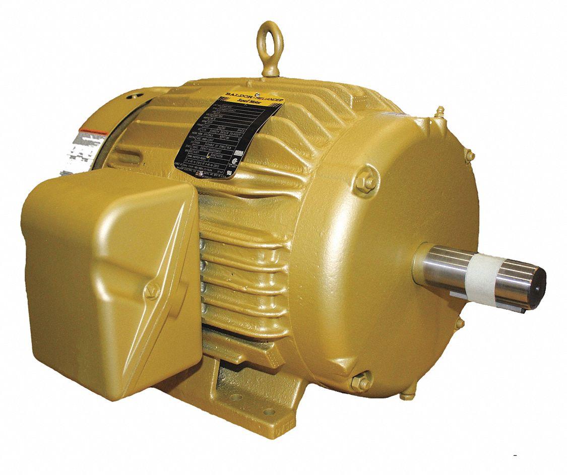 1760rpm 60Hz 3 Phase 230//460V Voltage 215T Frame Baldor EM3774T General Purpose AC Motor 10Hp Output TEFC Enclosure