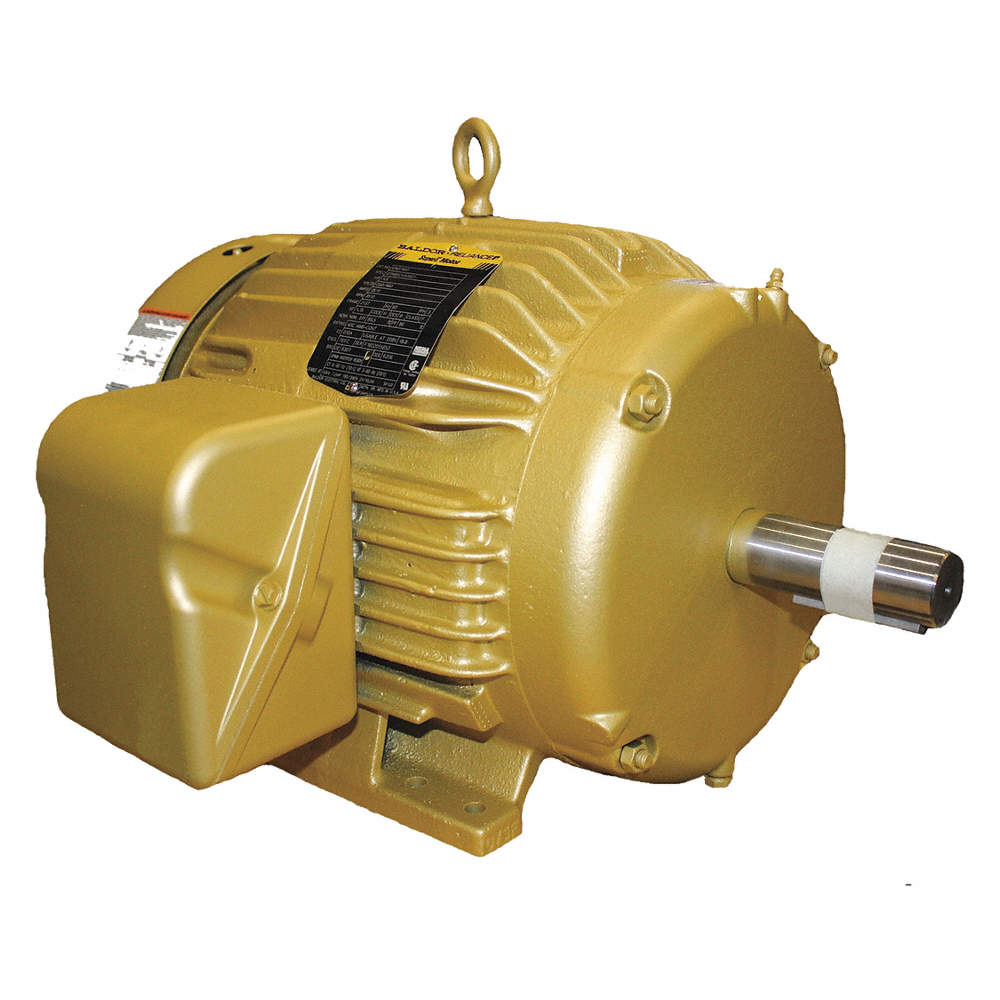 10 HP General Purpose Motor,3-Phase,1760 Nameplate RPM,Voltage  230/460,Frame 215T