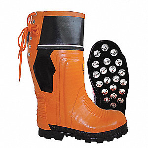 Chainsaw Boots,Knee,SBR Rubber,11D,PR