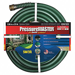 Water Hose,Kink Free,25 Ft.