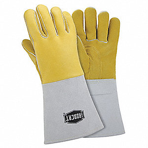 Welder Gloves,XL,14 1/2 In.,PR