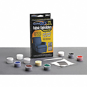 Furniture and Fabric Repair Kit, Red, Blue, Green, Yellow, White, Brown, Black
