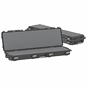 Gun Case, Double, 56in., 18 in.W, Black