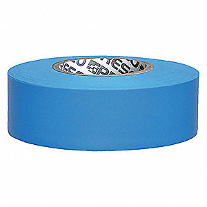 "Flagging Tape, Fluorescent Blue, 1-3/16"" x 150 ft."