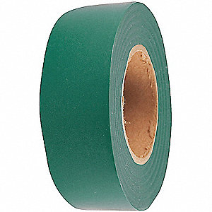 "Flagging Tape, Dark Green, 1-3/16"" x 150 ft."