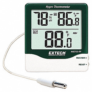 INDOOR/OUTDOOR HYGRO-THERMOMETER